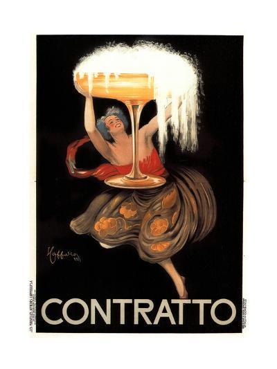 Contratto-Leonetto Cappiello-Art Print
