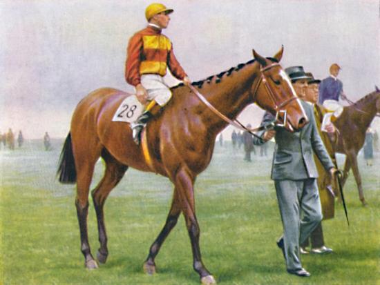 Contrevent, Jockey: A. Tucker', 1939-Unknown-Giclee Print