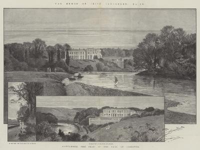 Convamore, the Seat of the Earl of Listowel-Charles Auguste Loye-Giclee Print