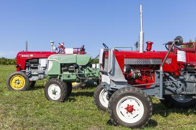 Convention for Classic Tractors, PfaffstŠtten, Lower Austria, Austria, Europe-Gerhard Wild-Photographic Print