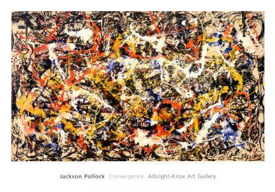 Convergence-Jackson Pollock-Art Print