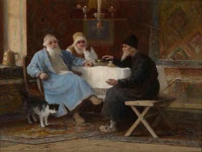 Conversation, 1909-Ivan Andreyevich Pelevin-Giclee Print