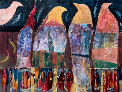 Conversation Piece-Margaret Coxall-Giclee Print