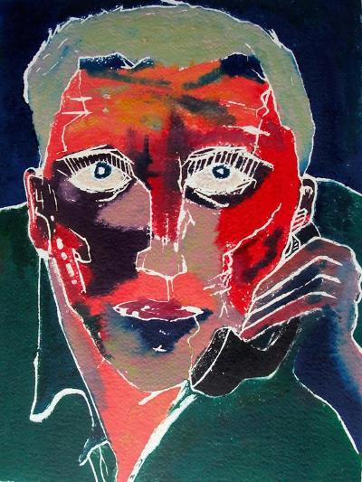 Conversation-David Studwell-Giclee Print