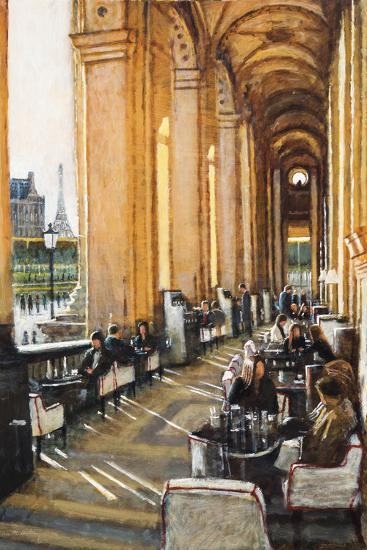 Conversations, Cafe Marley, Paris-Clive McCartney-Giclee Print