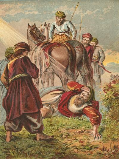Conversion of Saul-English School-Giclee Print
