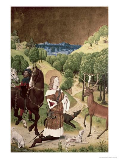 Conversion of St. Hubert-Master Of Werden-Giclee Print