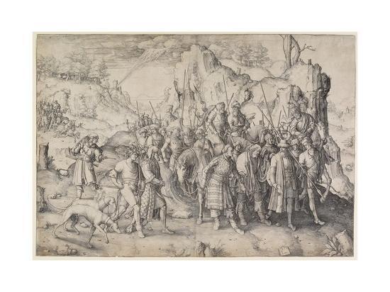 Conversion of St. Paul, 1509-Lucas van Leyden-Giclee Print