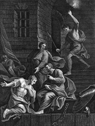 Conversion of the Gaoler, 1815--Giclee Print