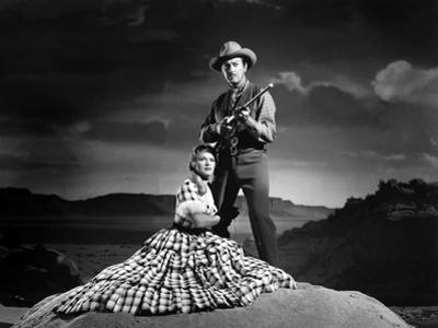 Convoi by Femmes WESTWARD THE WOMEN by William A Wellman with Robert Taylor and Denise Darcel, 1951