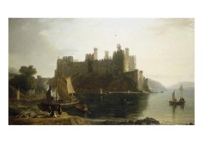Conway Castle, North Wales-William Daniell-Giclee Print