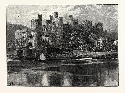 Conway Castle--Giclee Print