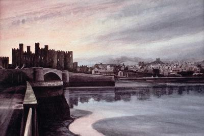 Conwy Bridge-Jane Carpanini-Giclee Print