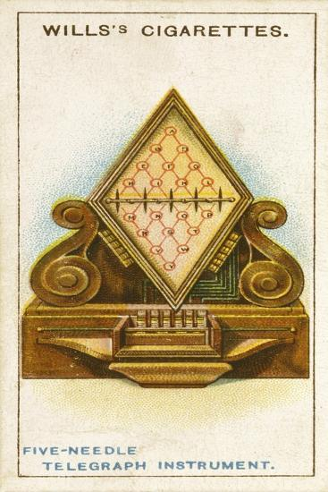 Cook and Wheatstone's 5-Needle Telegraph, 1837--Giclee Print