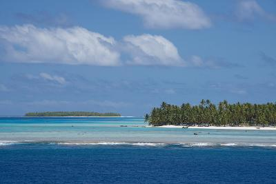 Cook Islands. Palmerston Island, a Classic Atoll Seascape-Cindy Miller Hopkins-Photographic Print