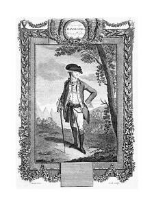 John Andre, British Soldier, Late 18th Century by Cook