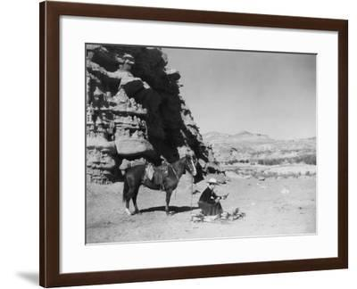 Cook Out--Framed Photo