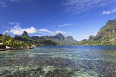 Cook's Bay, Moorea, Society Islands, French Polynesia, South Pacific, Pacific-Ian Trower-Photographic Print