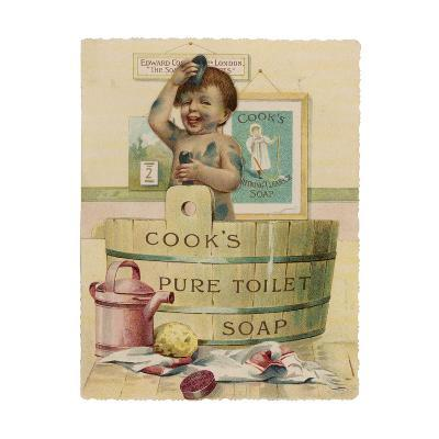 Cook's Pure Toilet Soap--Giclee Print