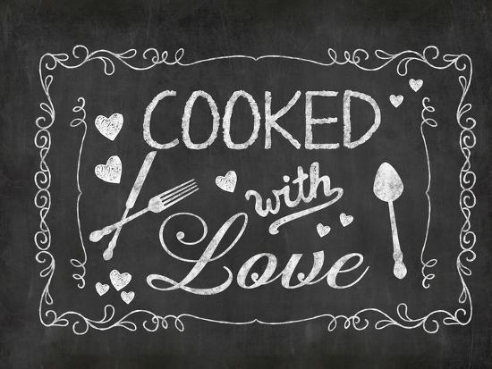 Cooked With Love 2-Lebens Art-Art Print