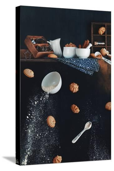 Cookies From The Top Shelf-Dina Belenko-Stretched Canvas Print