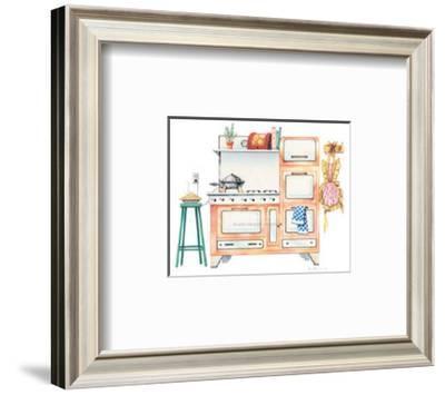 Cookin' with Kilowatts-Lisa Danielle-Framed Art Print