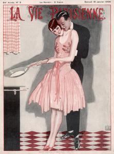 Cooking Crepes 1926