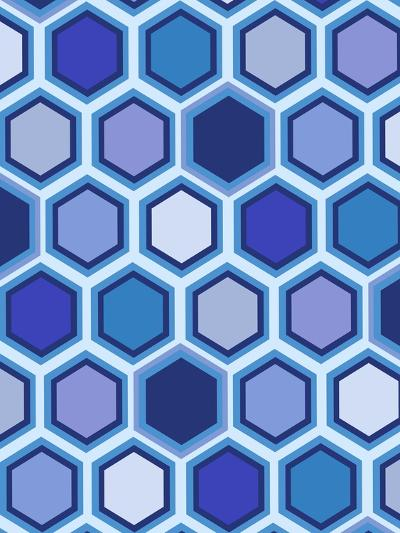 Cool Blue 3-Art Licensing Studio-Giclee Print