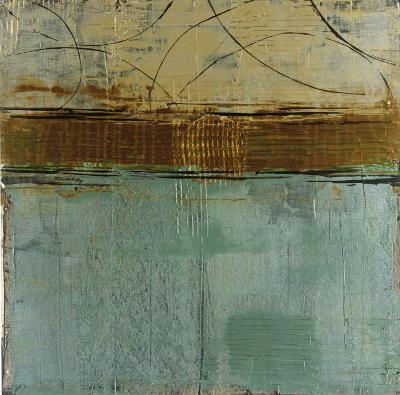 Cool Blue Canyon-Elizabeth Jardine-Art Print