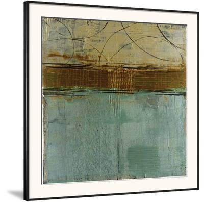 Cool Blue Canyon-Elizabeth Jardine-Framed Art Print