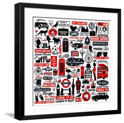 Cool Britania-Janie Secker-Framed Art Print