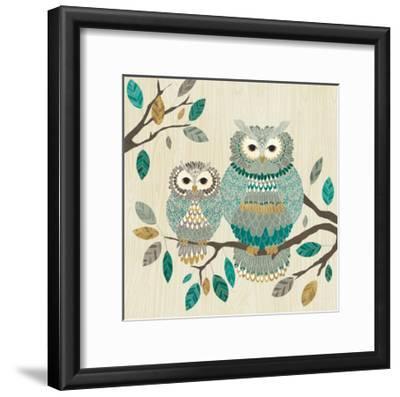 Cool Feathers I-Veronique Charron-Framed Art Print
