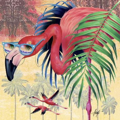 Cool Flamingoes-James Mazzotta-Giclee Print