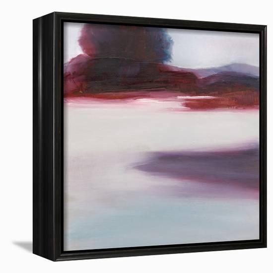 Cool Lagoon-Michelle Abrams-Framed Canvas Print