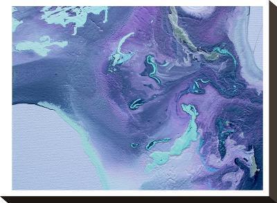Cool Purple-Deb McNaughton-Stretched Canvas Print