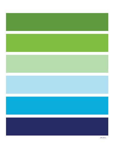 Cool Stripes-Avalisa-Art Print