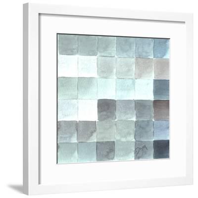 Cool Tiles 2-Beverly Dyer-Framed Art Print