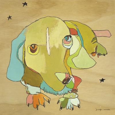 Cooper Dog-Jennifer Mercede-Art Print