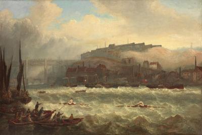 Cooper Versus Chambers, Race on the Tyne, 1865-John Warkup Swift-Giclee Print