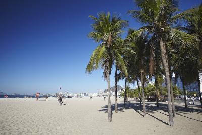 Copacabana Beach, Rio de Janeiro, Brazil, South America-Ian Trower-Photographic Print