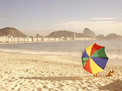 Copacabana Beach, Rio de Janeiro, Brazil-Silvestre Machado-Photographic Print