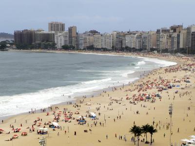 Copacabana Beach, Rio De Janiero, Brazil-Kymri Wilt-Photographic Print