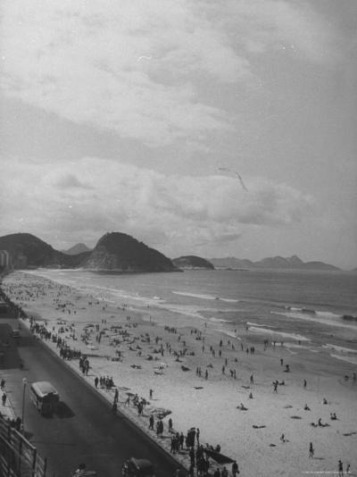 Copacabana Beach-Thomas D^ Mcavoy-Photographic Print