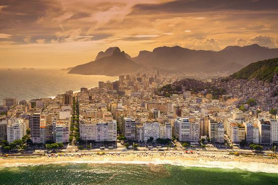 Copacabana Beach-CelsoDiniz-Photographic Print