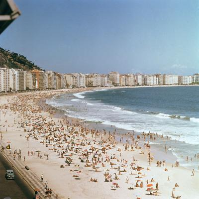 Copacabana Beach--Photographic Print