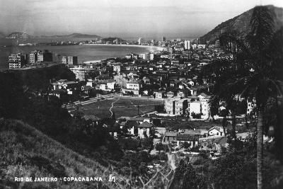Copacabana, Rio De Janeiro, Brazil, C1937--Giclee Print