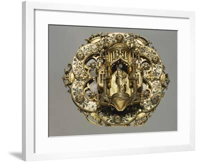 Cope Clasp--Framed Giclee Print