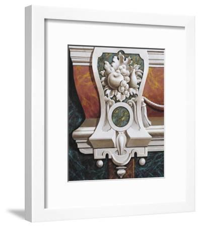 Copenhagen Fresco II (small)-Joaquin Moragues-Framed Art Print