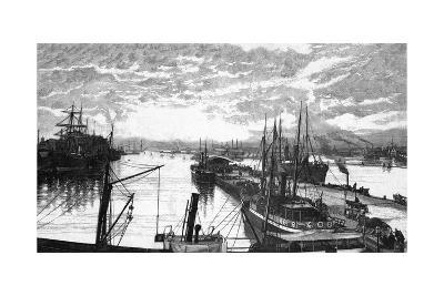 Copenhagen Harbour--Giclee Print