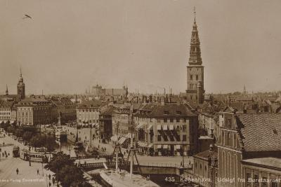 Copenhagen, View from the Stock Exchange Tower--Photographic Print